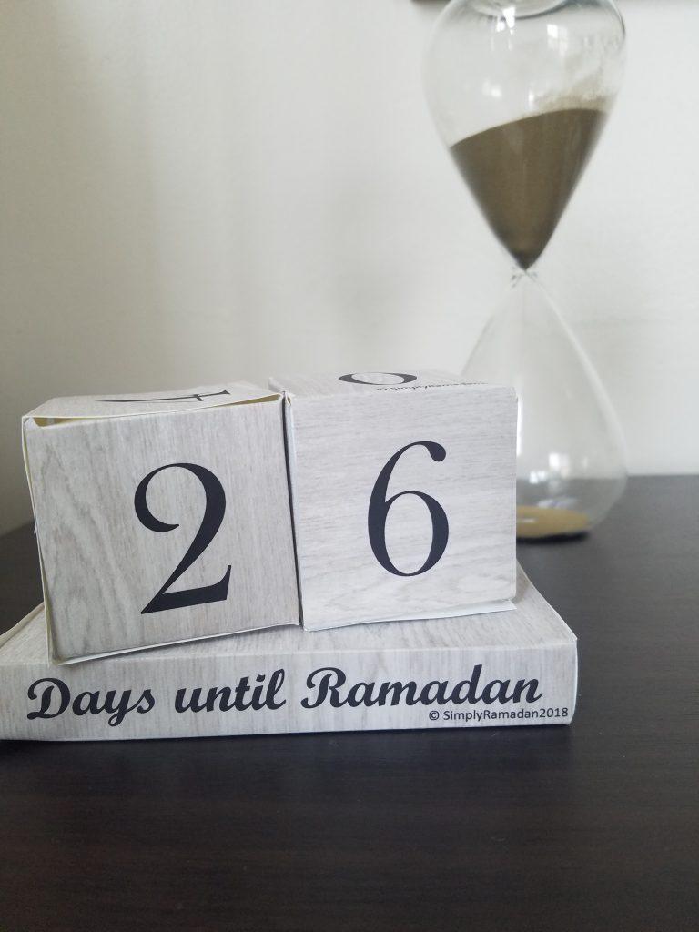 DIY Ramadan and Eid Countdown blocks